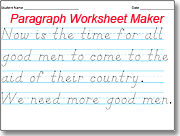 Worksheets Kindergarten Handwriting Worksheet Maker amazing dnealian handwriting worksheet maker use the style sentence with a students name or small type words letters in first line