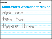 1000  ideas about Handwriting Worksheet Maker on Pinterest ...