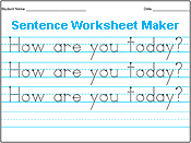 Printables Kindergarten Handwriting Worksheet Maker amazing handwriting worksheet maker print worksheets best for printing practice with a students name or small sentence type words in the first line and all lines below appear automatically